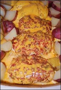 easy cheesy chicken
